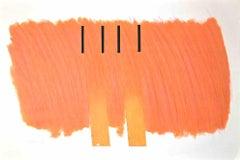 Composition - Original Lithograph by Richard Smith - 1971