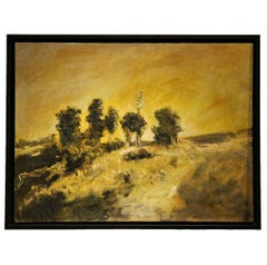 Early Landscape Textured Painting