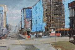 16th St, Painting, Oil on Other