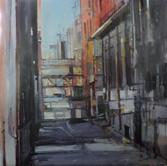 Denver Alley, Painting, Oil on Other