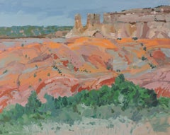 Ghost Ranch, Painting, Oil on Other