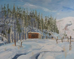 Overnight  Snow, Painting, Oil on Other