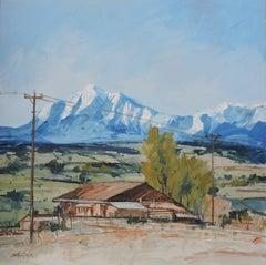 San Juan Mountain, Painting, Oil on Other