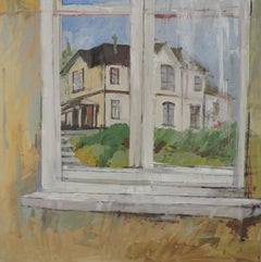 Window View, Painting, Oil on Other