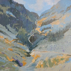 Wolf Creek Pass, Painting, Oil on Other