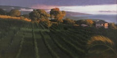 """Kona"" - Nocturne - Landscape Painting - American Realism - Wyeth"