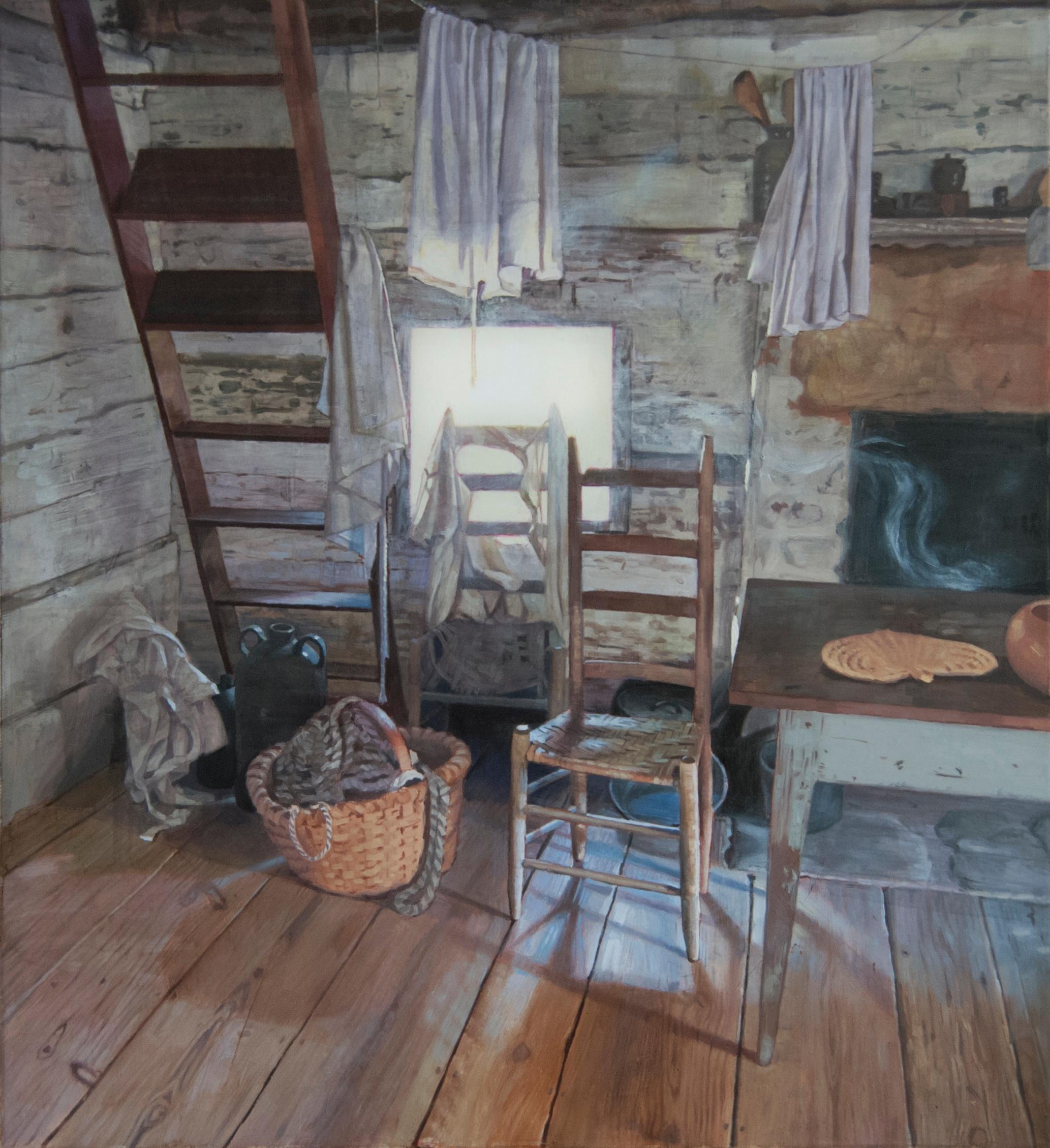 """Nostalgia"" - Contemporary History Painting - Vermeer"