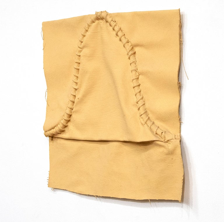 Untitled (Cloth and Paint Work #2) - Post-War Mixed Media Art by Richard Tuttle