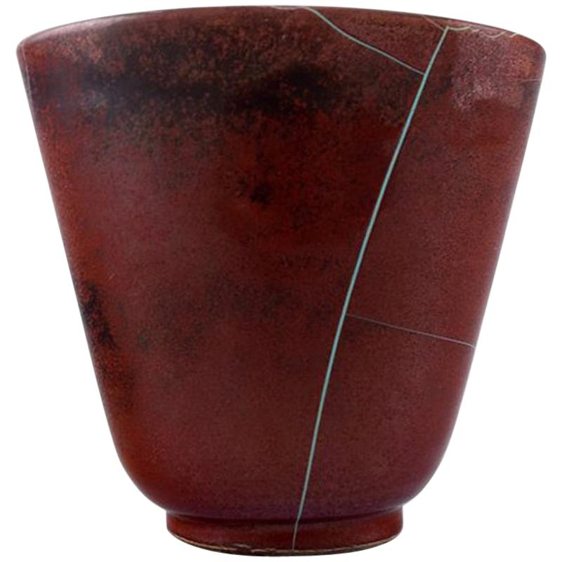 Richard Uhlemeyer, German Ceramist, Ceramic Vase