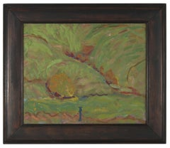 Expressionist California Landscape, Mid 20th Century, Oil Painting