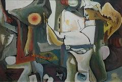 Richard Wengenroth Abstract Painting