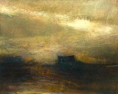 Tallow BY RICHARD WHADCOCK, Original Landscape Art, Brown Painting, Textured Art