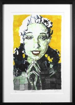 Josephine limited edition giclée on fine art paper by artist Richard Yarde