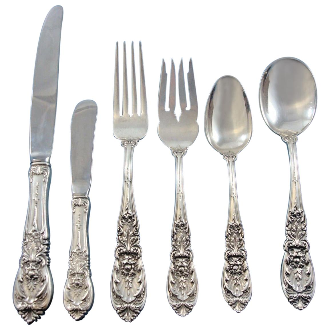 Richelieu by International Sterling Silver Flatware Set for 12 Service 77 Pieces