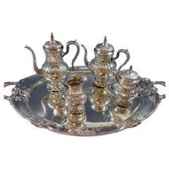 Richelieu by International Tea Set Four-Piece with Tray Fabulous #1631