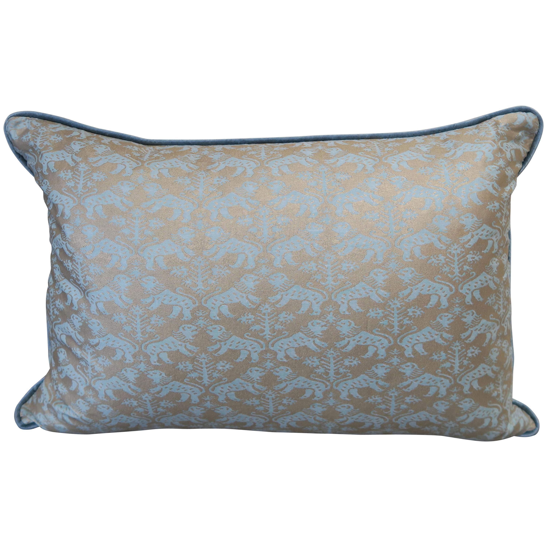 Richelieu Fortuny Textile Pillows, Pair