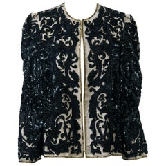 Richilene Embellished Evening Jacket
