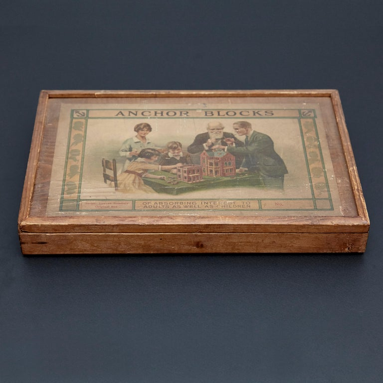 Richters German anchor blocks building toys / Der Geschickte Baumeister