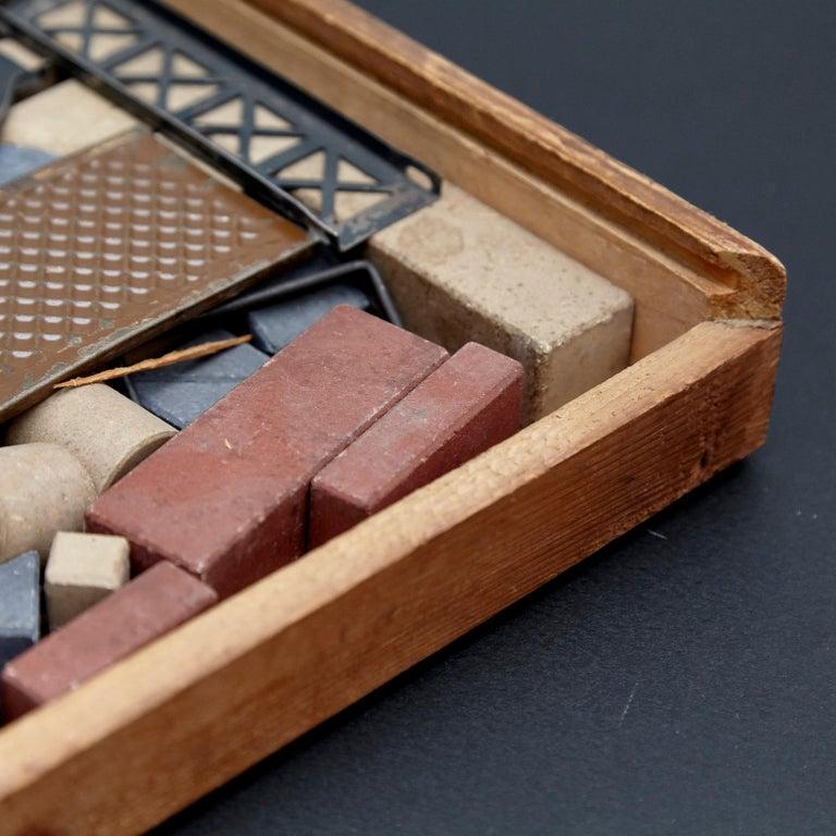 Quartz Richters German Anchor Stone Blocks Building Toy For Sale