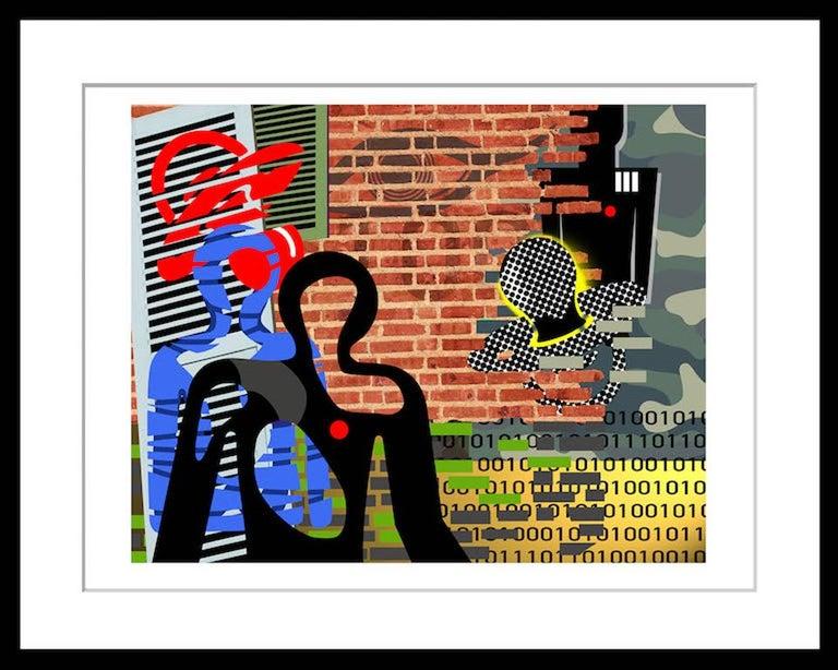 Data Driven - Print by Rick Garcia