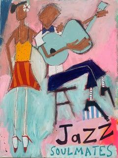 Jazz Soulmates, Original Painting