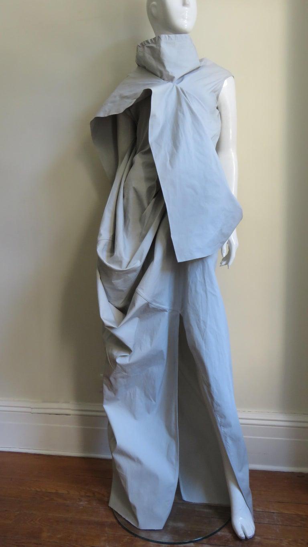 Rick Owens New Sculptural Walrus Maxi Dress For Sale 5