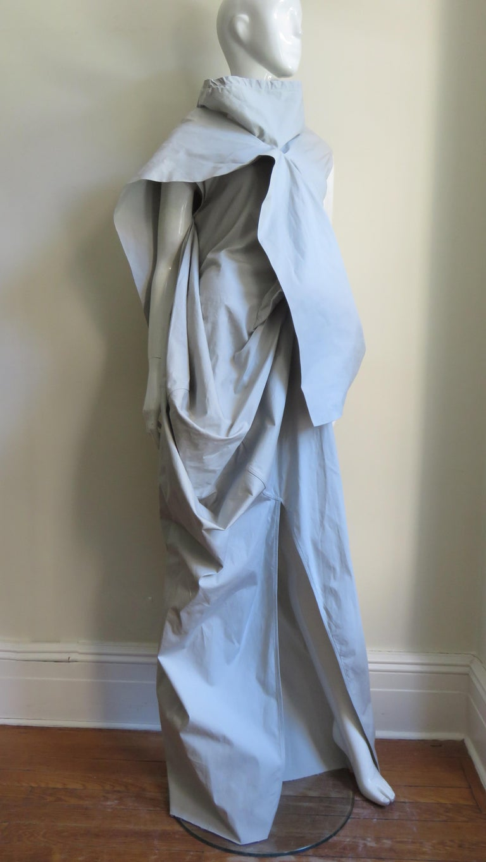 Rick Owens New Sculptural Walrus Maxi Dress For Sale 6