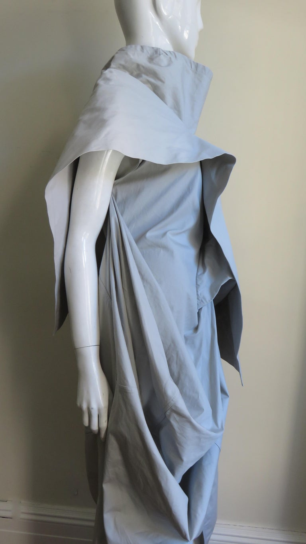 Rick Owens New Sculptural Walrus Maxi Dress For Sale 7