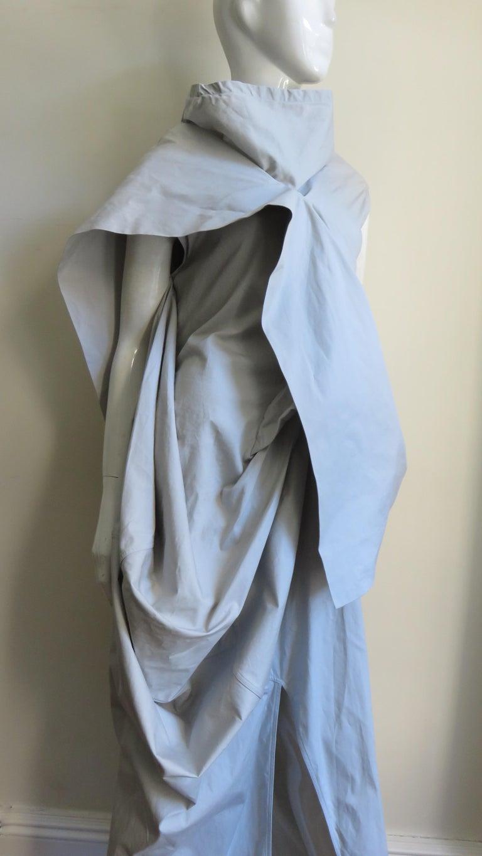 Rick Owens New Sculptural Walrus Maxi Dress For Sale 8