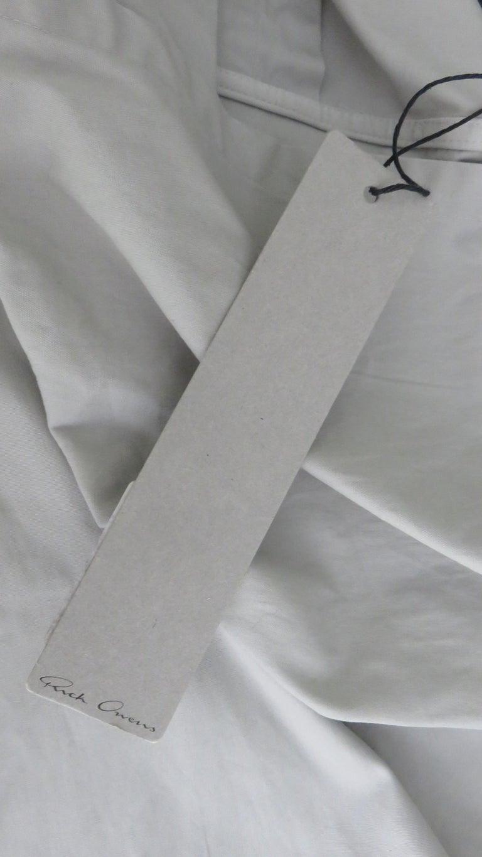Rick Owens New Sculptural Walrus Maxi Dress For Sale 13