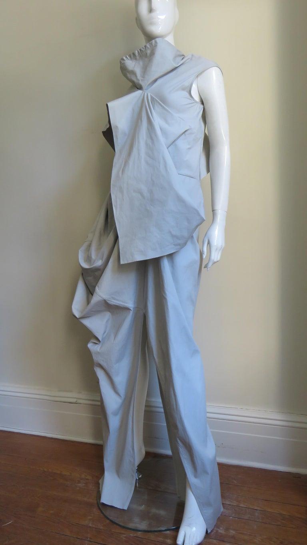 Women's Rick Owens New Sculptural Walrus Maxi Dress For Sale