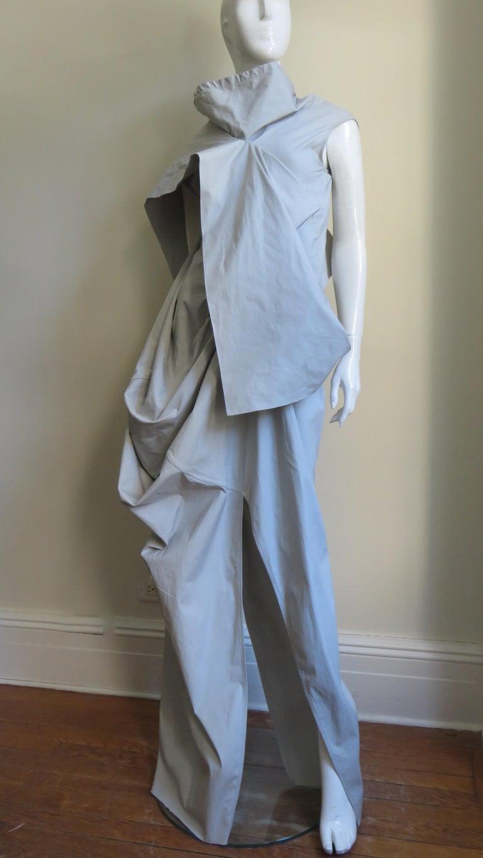 Rick Owens New Sculptural Walrus Maxi Dress For Sale 1