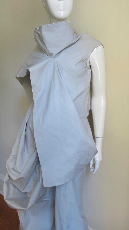 Rick Owens New Sculptural Walrus Maxi Dress For Sale 2