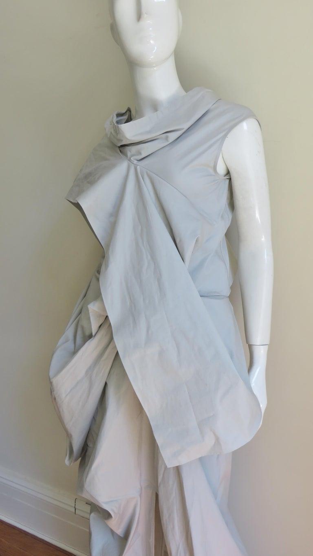 Rick Owens New Sculptural Walrus Maxi Dress For Sale 3