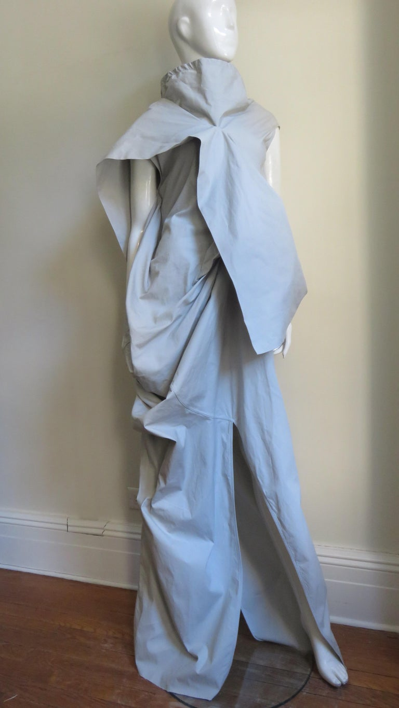 Rick Owens New Sculptural Walrus Maxi Dress For Sale 4
