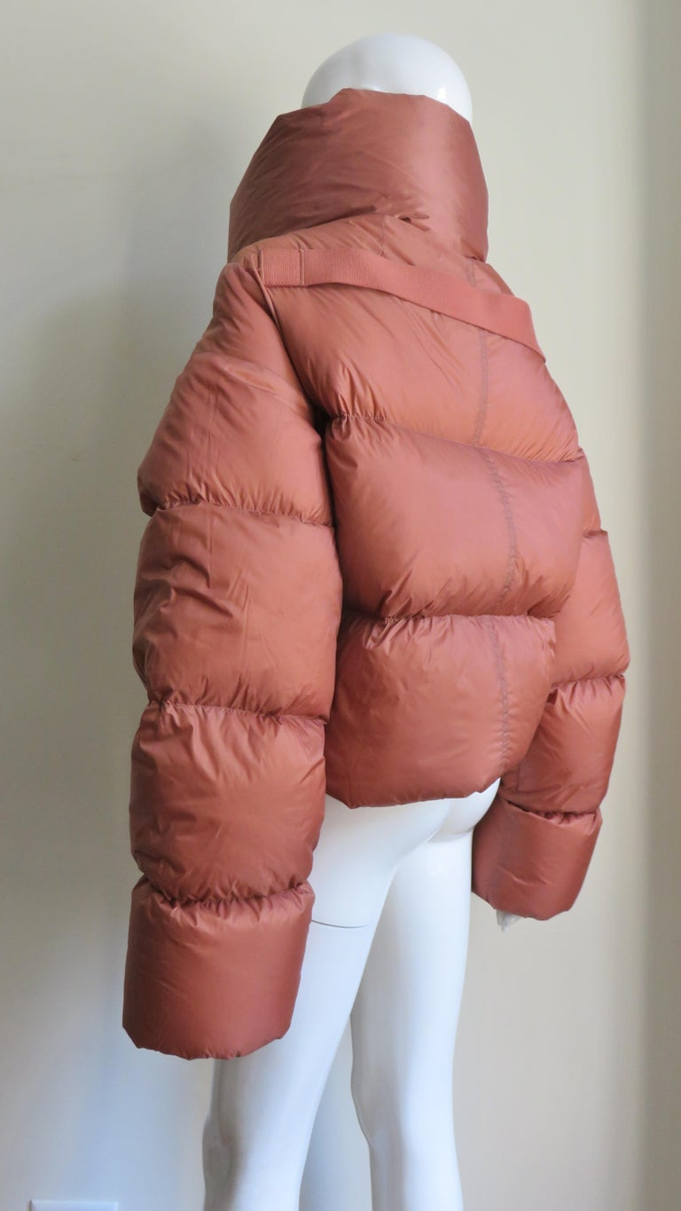 Rick Owens Puff Jacket A/W 2018 For Sale 7