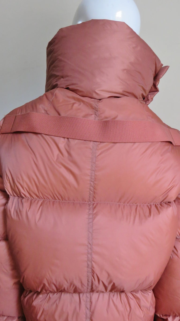 Rick Owens Puff Jacket A/W 2018 For Sale 9