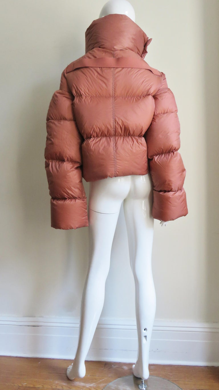 Rick Owens Puff Jacket A/W 2018 For Sale 11