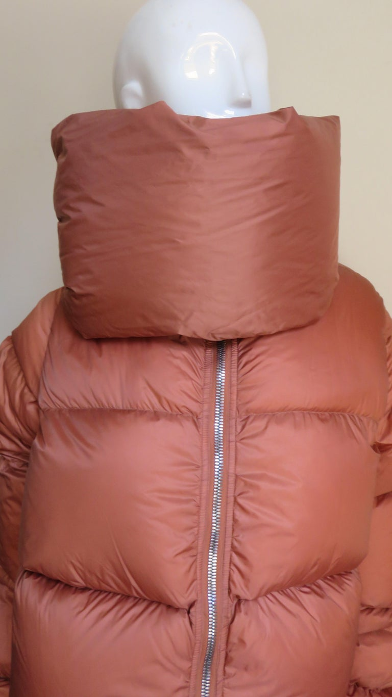 Rick Owens Puff Jacket A/W 2018 For Sale 1