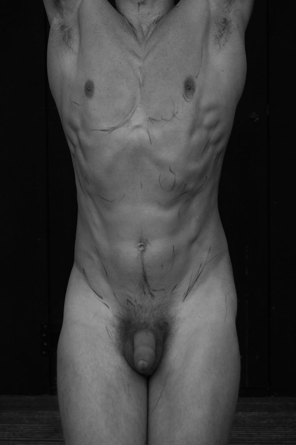 Body,  Archival pigment print Medium Black and white Photograph