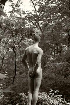 Body Three,  Sepia Archival pigment print, Medium