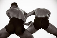 Dancing Men 3, Black and white  Archival pigment print, Small