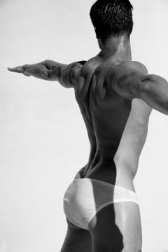 Man Back One. From the Motion Series, Medium
