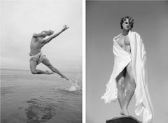 Man on Water, and Man Risen, Set from the series Blanco