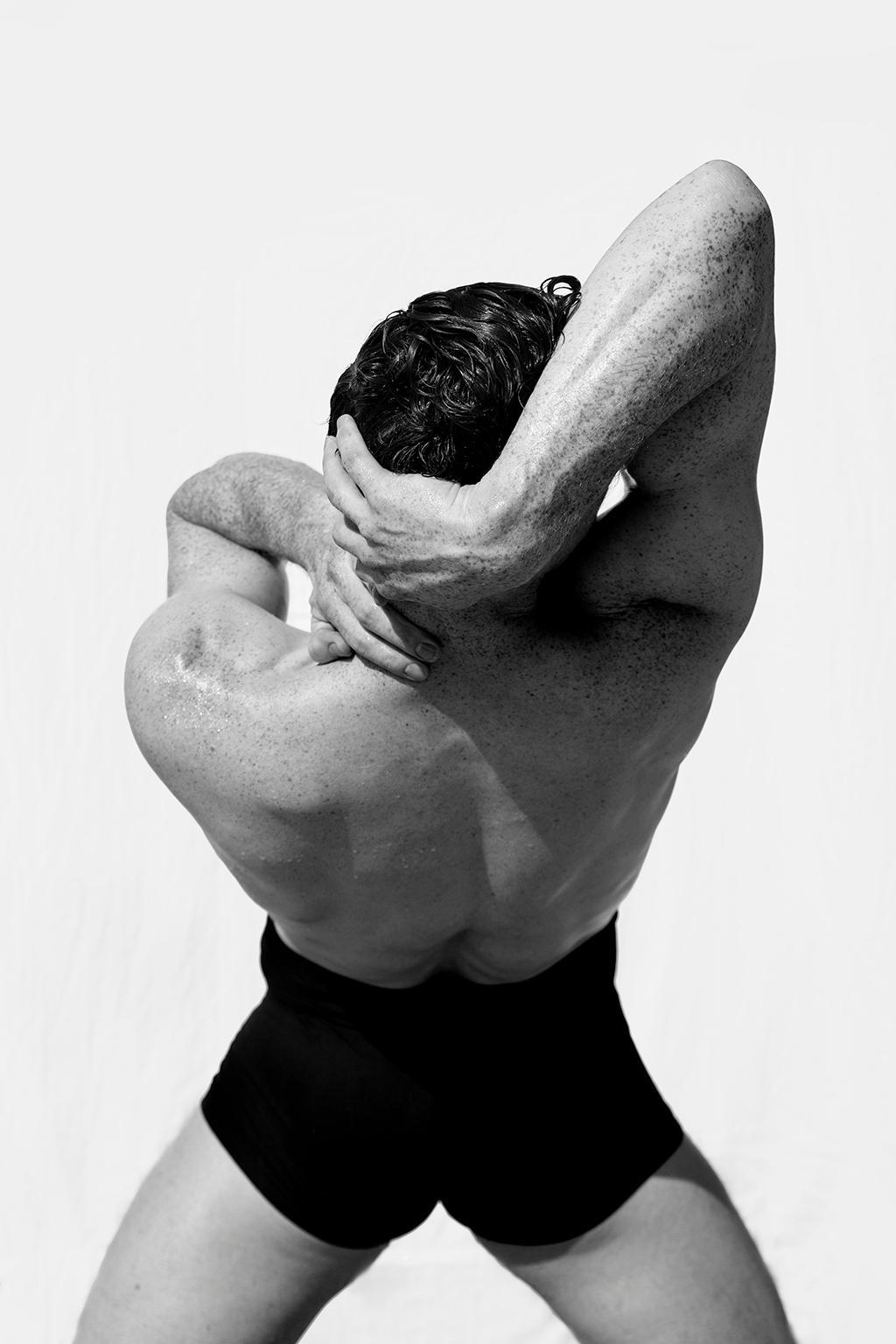Man waist Two. From Motion Series, Medium