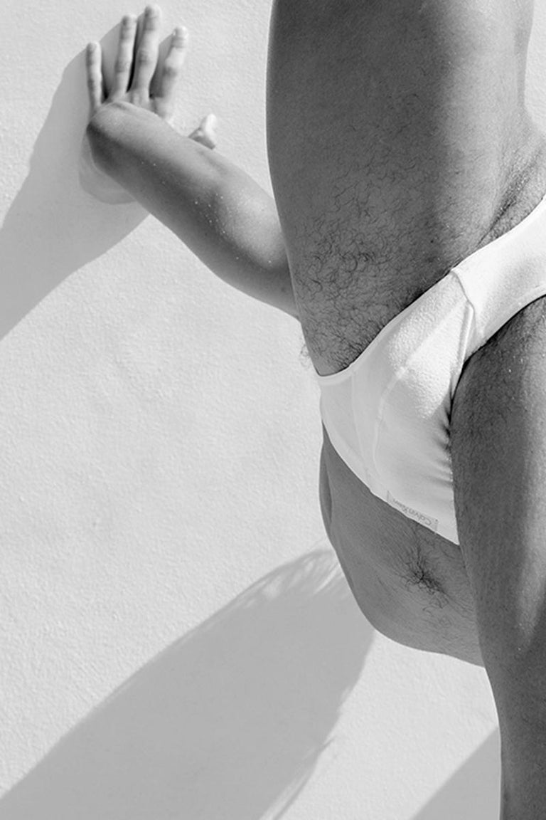 Men Legs One. From the Motion Series, Medium - Photograph by Ricky Cohete