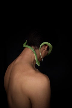 Man & Serpent Two, Color  Archival pigment print, Large