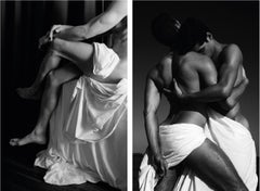 Untitled I, and Embrace of Men, Set from the series Blanco