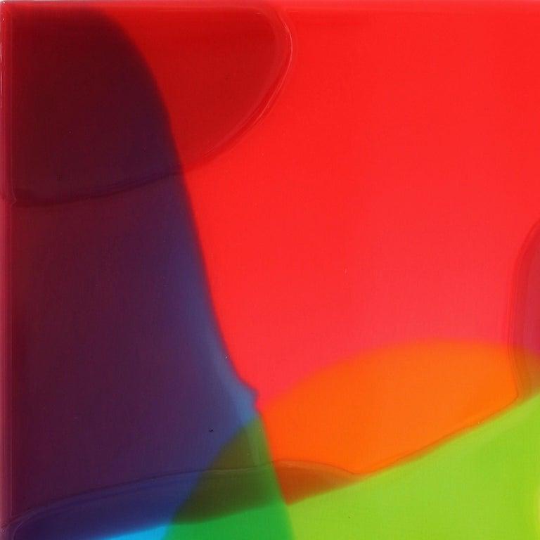 Lightning 1 - Minimalist Painting by Ricky Hunt