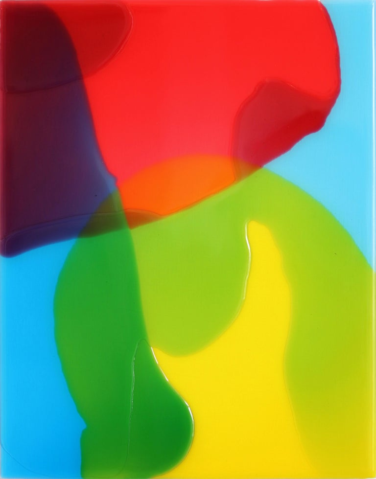 Ricky Hunt Abstract Painting - Lightning 1